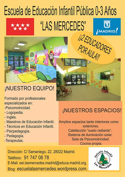 Escuela de Educación Infantil Pública 0-3 años.