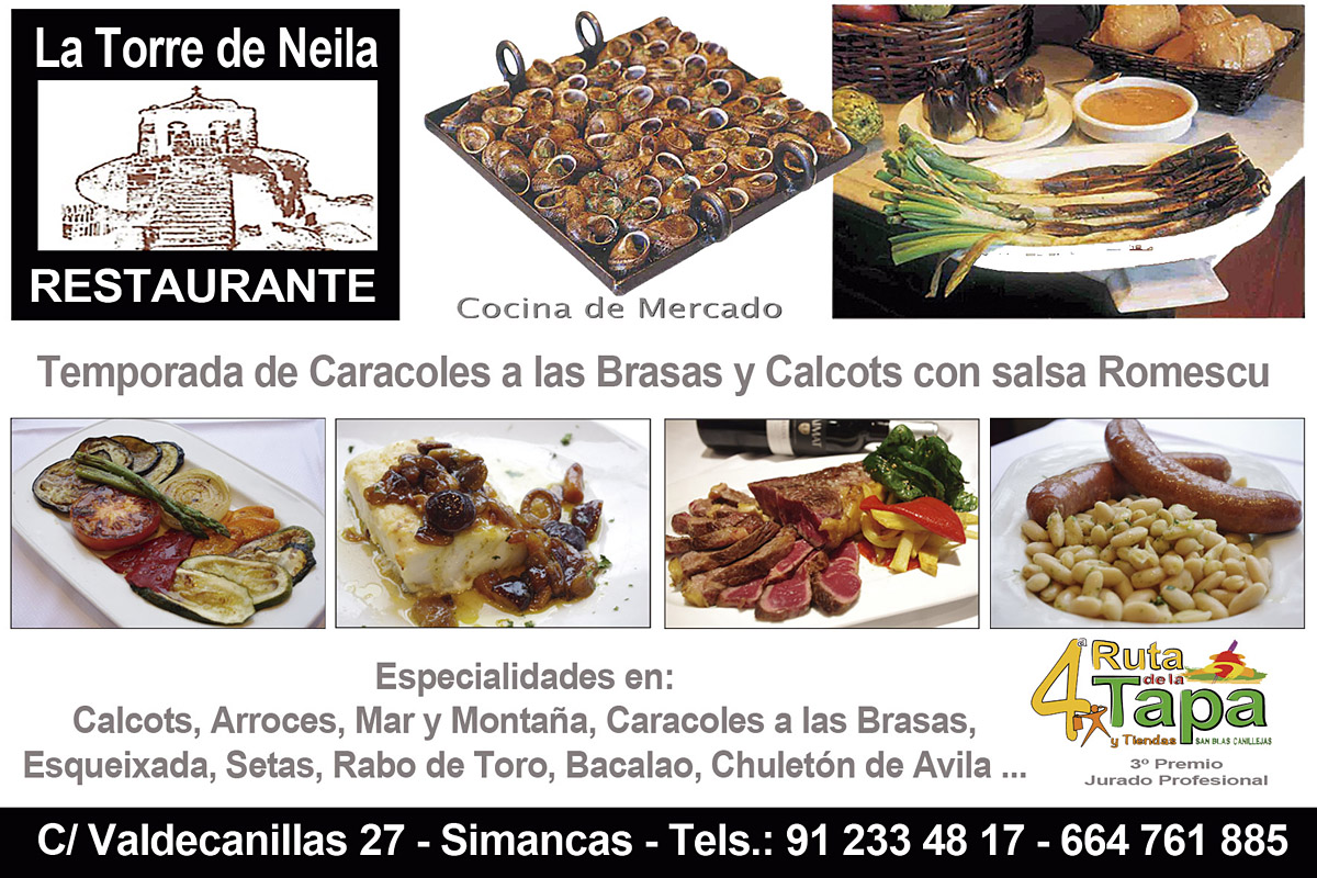 Restaurante La Torre de Neila