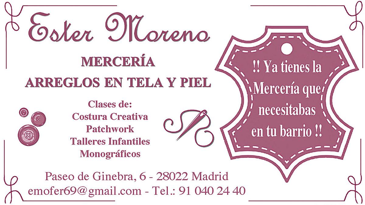 Ester Moreno Mercería