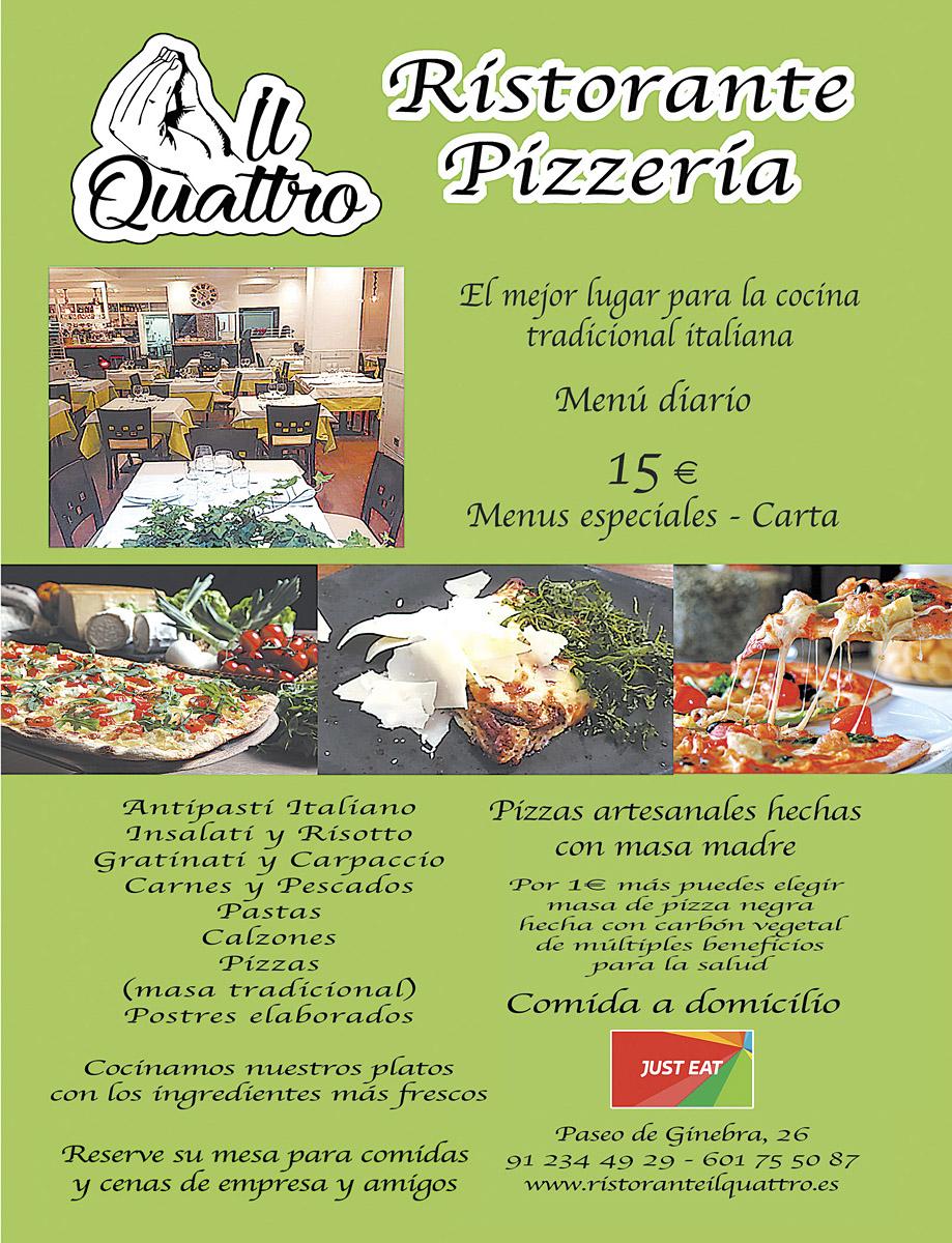 Pizza Il Quattro