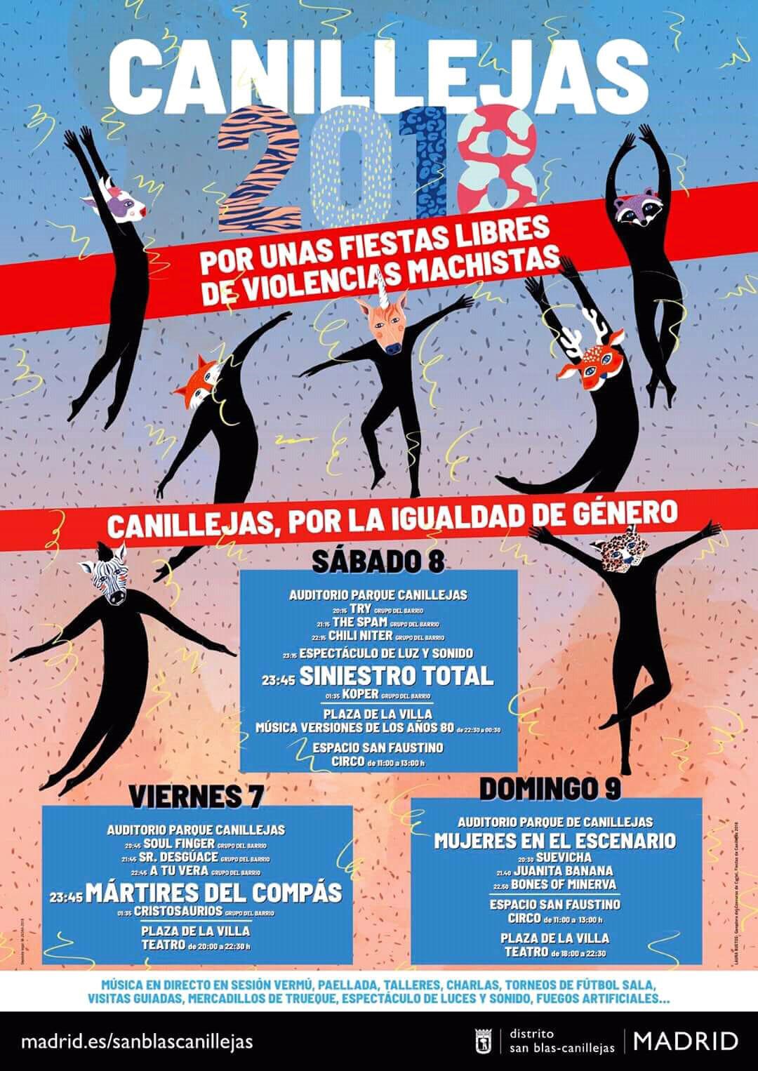 Fiestas Canillejas 2018