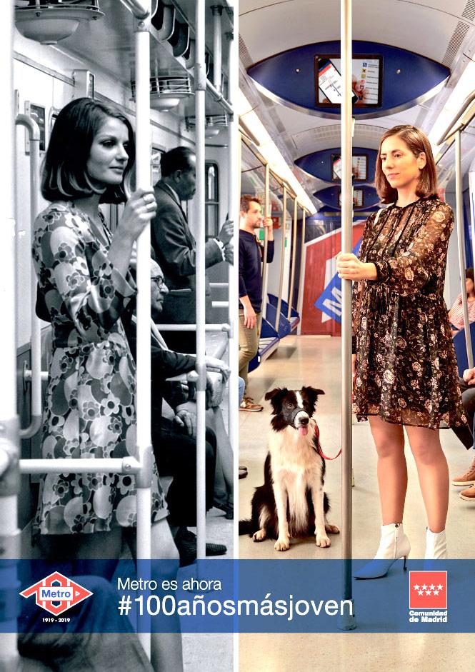 Metro es ahora #100añosmásjoven