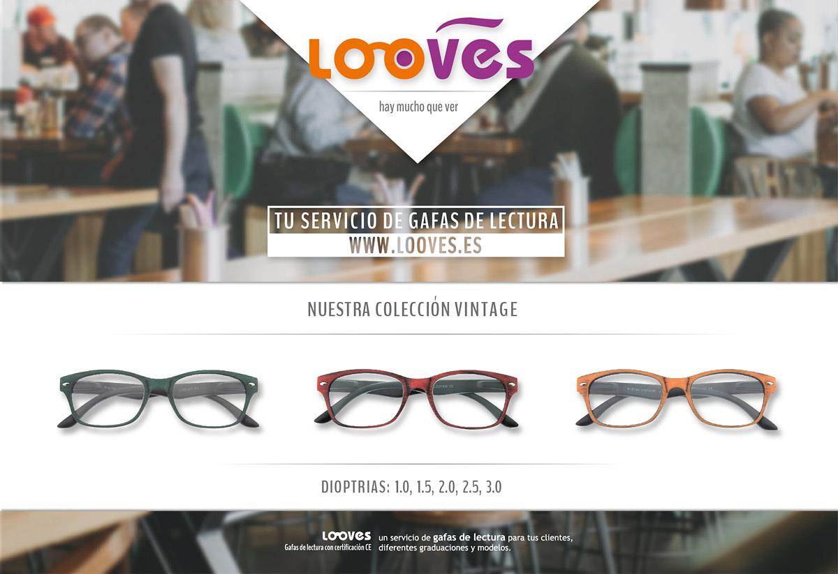 Looves — Tu servivio de gafas de lectura