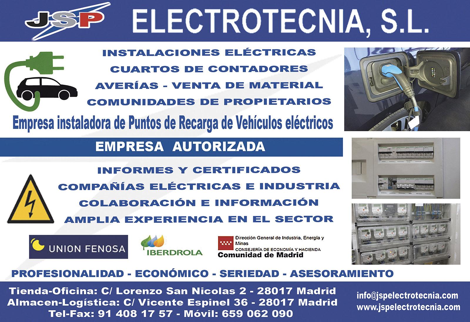 JSP Electrotecnia