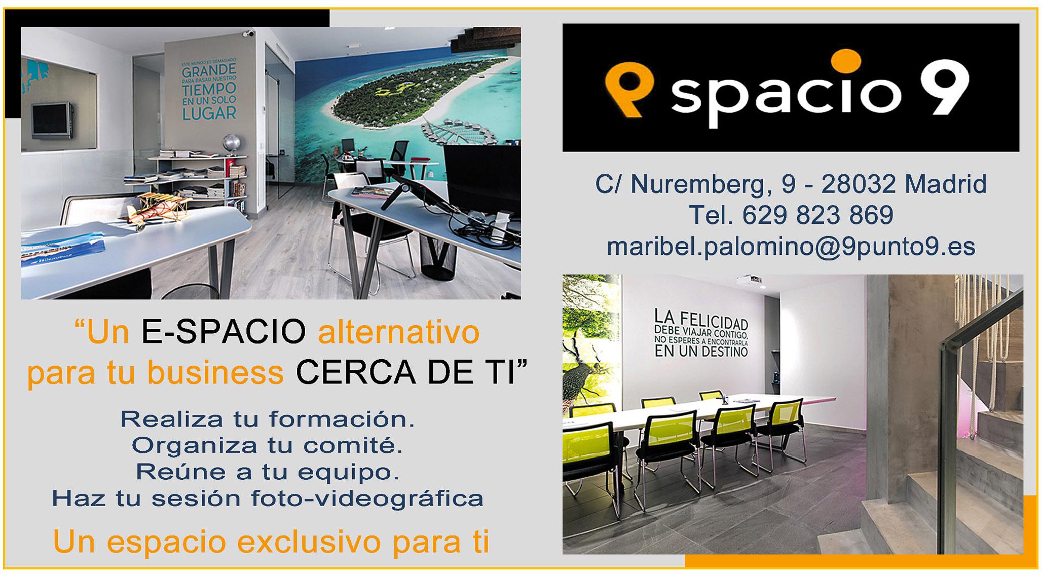 E-spacio 9, un centro cuyo valor esencial es el espacio